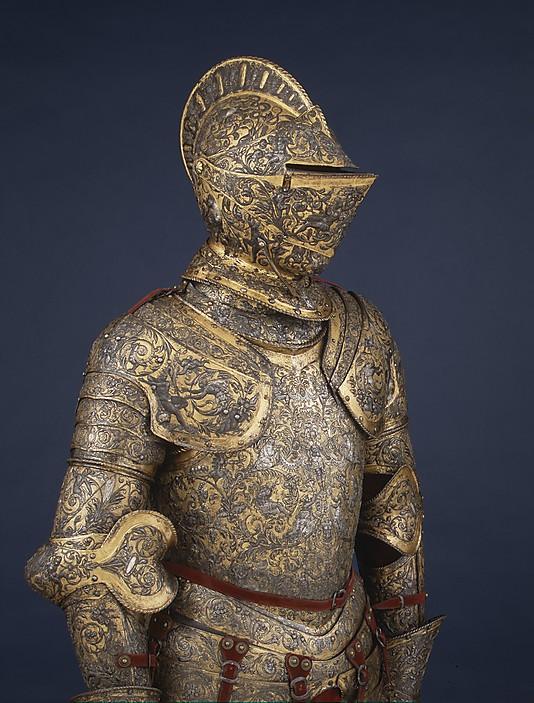 the medieval iron man armor venue