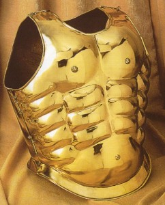 Brass Greek Armor