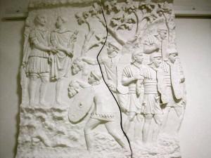 Roman Soldiers In Battle