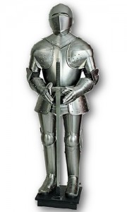 White Knight Suit of Armor