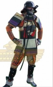 japanese warrior armor