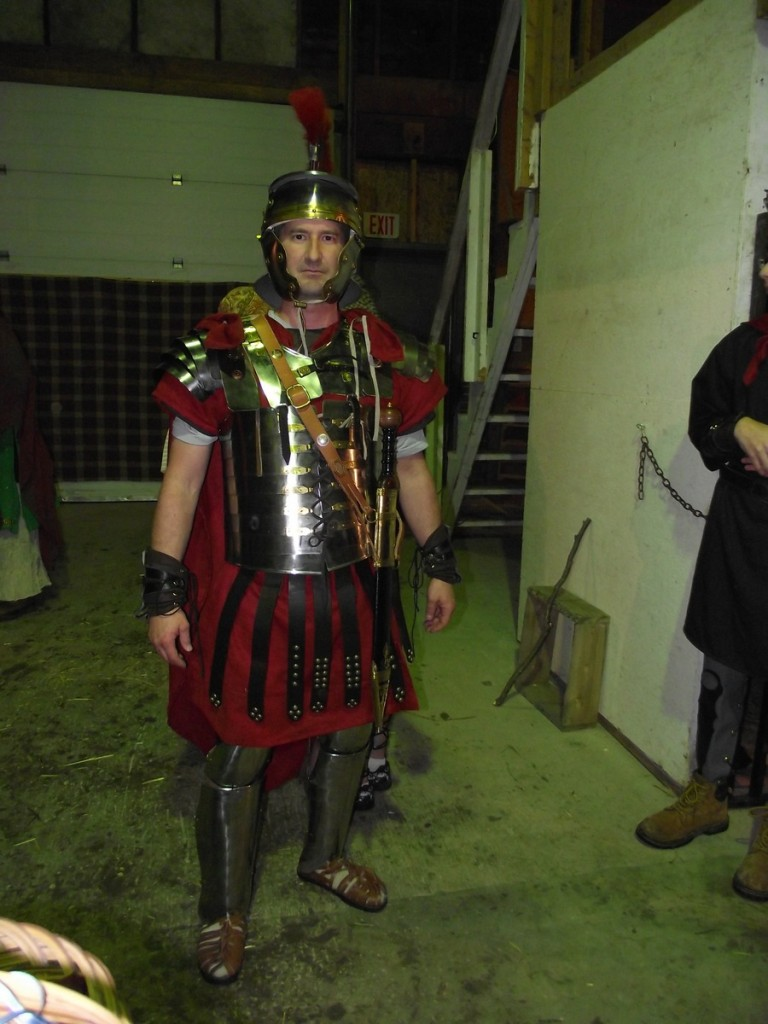 roman soldier in bethlehem
