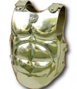 spartan armor brass