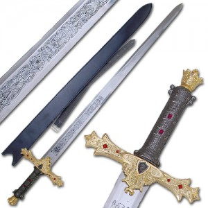 King Arthur's Excalibur Sword