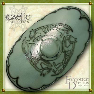 Gaelic Shield Deluxe Silver