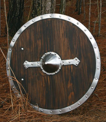 Viking Shield - Brown