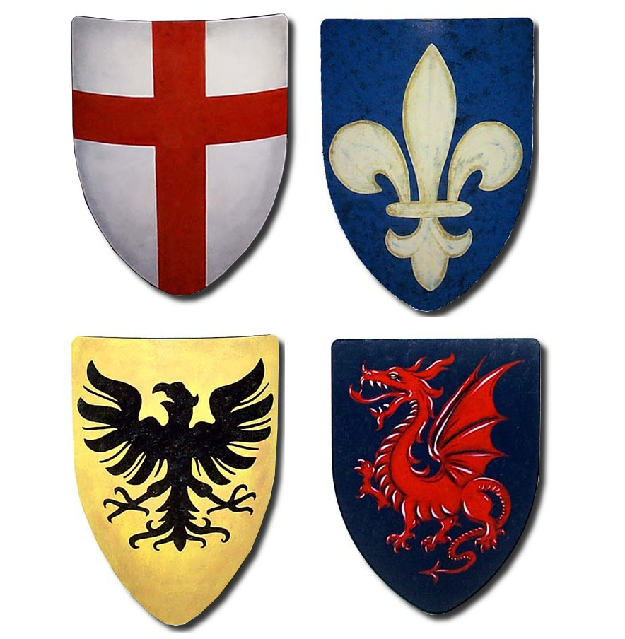 SCA Medieval Battle Shields