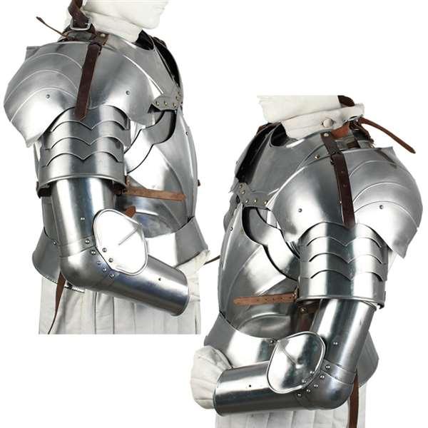 knight armor pauldrons